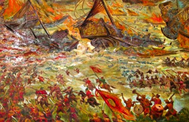 ok-Battle of Bach Dang river in 1288 (dokientrung)